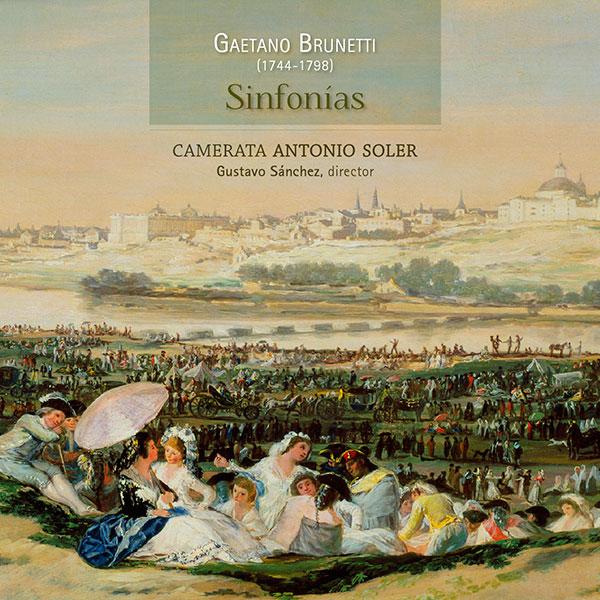 Gaetano Brunetti Sinfonías. Camerata Antonio Soler. Lindoro, sello discográfico especializado en Música Antigua y Clásica. Visite nuestra tienda Online.