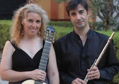 María Esther Guzmán y Luis Orden