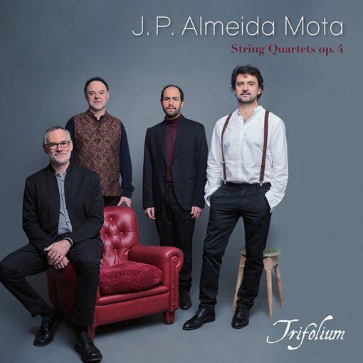 J.P. Almeida Mota. String Quartets. Trifolium. Lindoro 2020